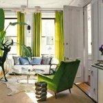 Wystrój wnętrza w mieszkaniu.